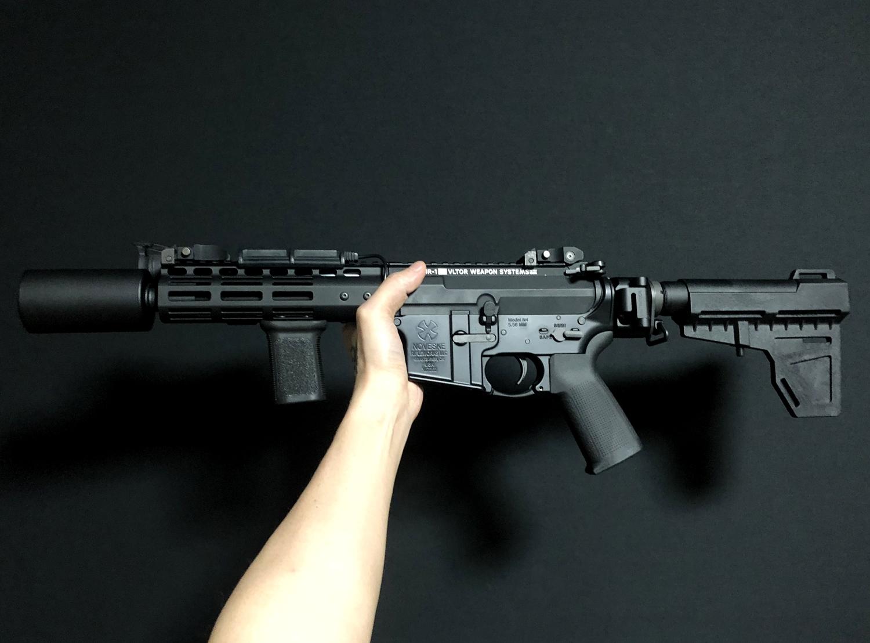 33 次世代 M4 CQB-R 電動ガン 実物 KAK ストック 取付 改造 カスタム 大作戦 第五弾!! やっと加工を再開!! 実銃 ストックパイプ AR フォールディング アダプター ダイス ネジ タップ 切り 加工 仮組 取付 道具 購入