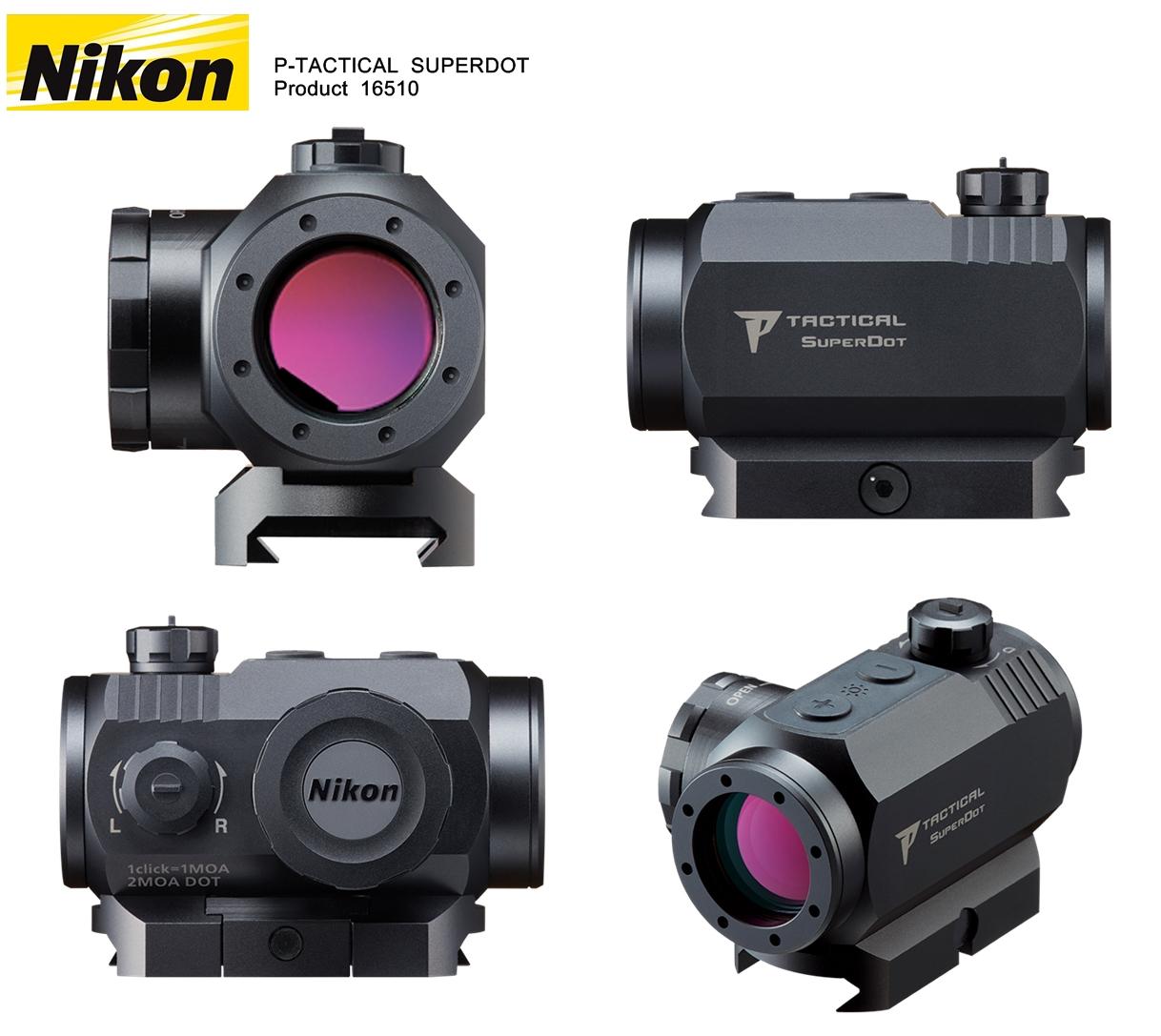 1 NIKON P-TACTICAL SUPERDOT NEW TACTICAL SUPERDOT Product 16510 HILOG 実物 ドットサイト