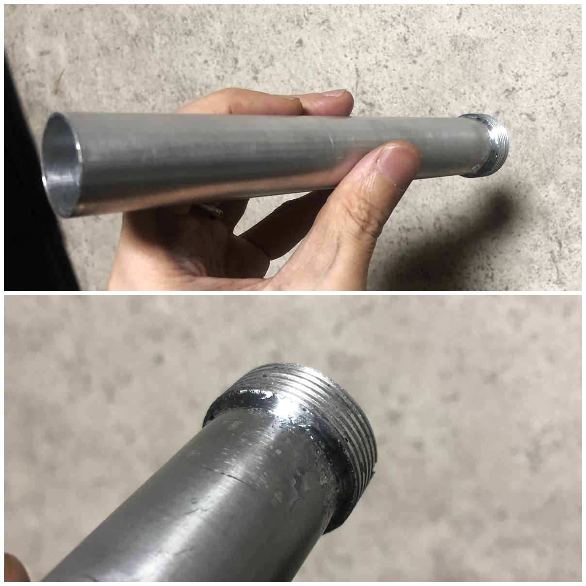 6 次世代 M4 CQB-R 電動ガン 実物 KAK SHOCKWAVE BLADE PISTOL AR-15 ストック 取付 改造 カスタム 大作戦 第六弾!! オリジナル次世代リコイル製作&溶接・ネジタップ 3Dプリントパーツ製作作業!! 実銃 ストックパイ
