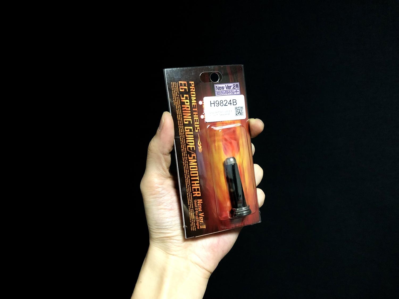 16 LayLax EGスプリングガイド VER2 次世代 M4 CQB-R 電動ガン 実物 KAK SHOCKWAVE BLADE PISTOL AR-15 ストック 取付 改造 カスタム 大作戦 第六弾!! オリジナル次世代リコイル製作&溶接・ネジタップ 3Dプリントパ