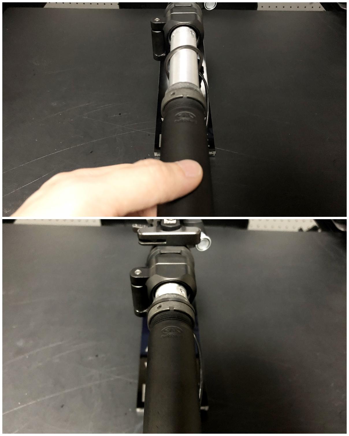 29 次世代 M4 CQB-R 電動ガン 実物 KAK SHOCKWAVE BLADE PISTOL AR-15 ストック 取付 改造 カスタム 大作戦 第7弾完結!! 最終 組み立て作業 & 初速 調整!! 実銃 ストックパイプ AR フォールディング 取付 リコイル