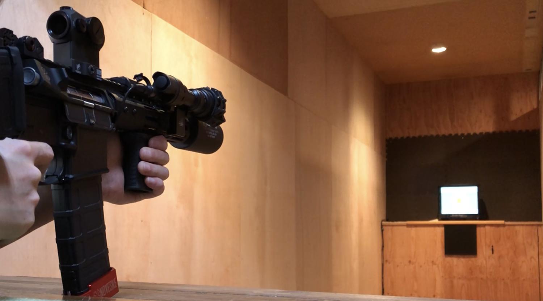 12 東京マルイ 次世代 M4 CQB-R 実物 ストックカスタム 大作戦 リコイル 調整 & SIG SAUER ROMEO5 ドット 調整!! IN SHOOTING RANGE OKAYAMA CROWS NEST シューティングレンジ クロウズ ネスト 岡山 へ行ってきまし
