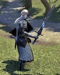 剣はトリマニク。