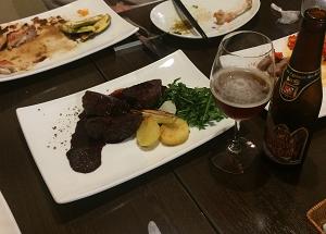 フェリーチェさんの 和牛ホホ肉の赤ワインソース