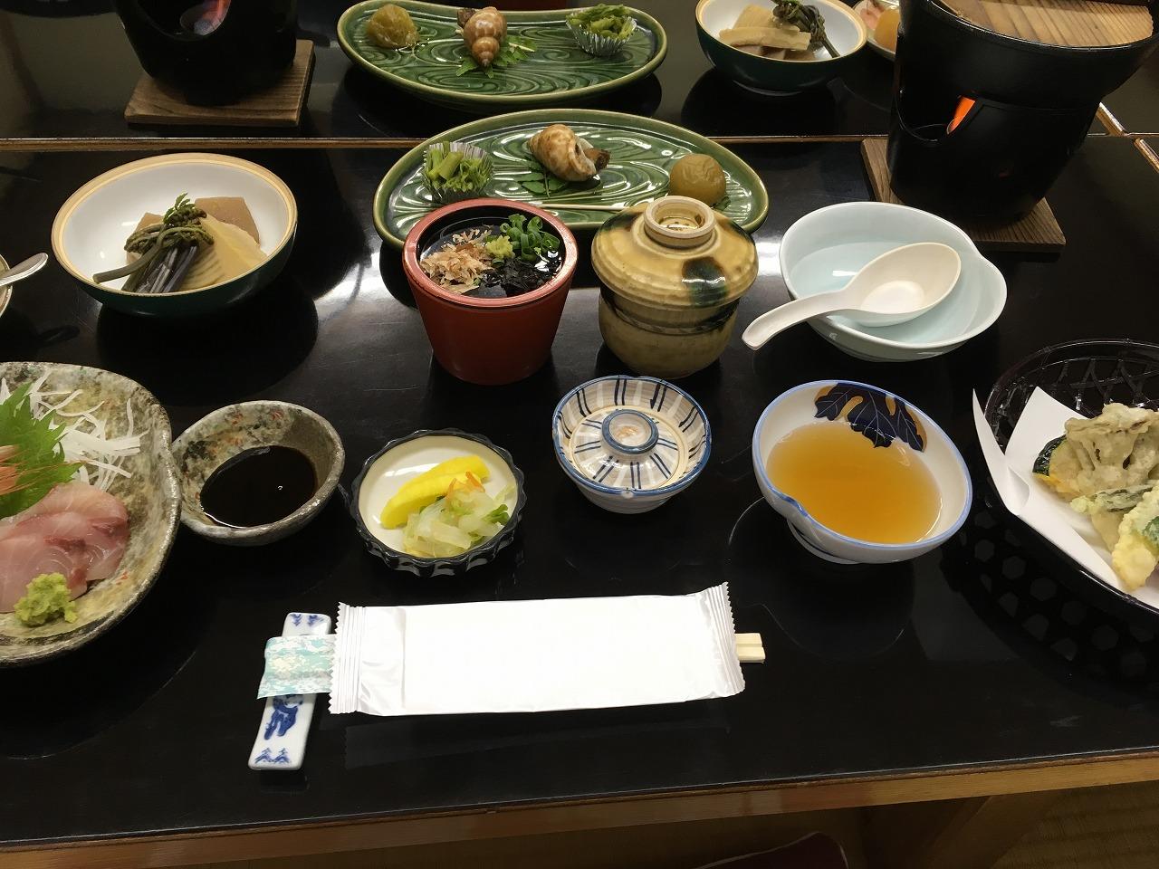 熊谷旅館料理