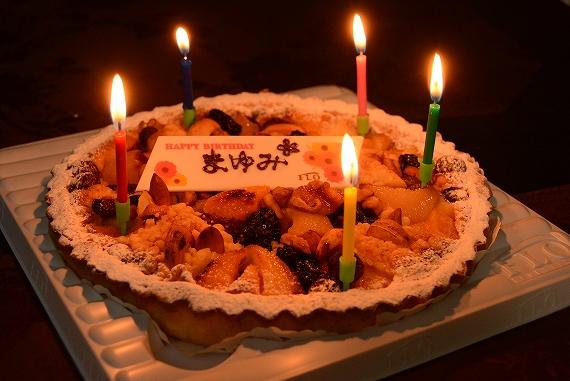 誕生日ケーキ20180617
