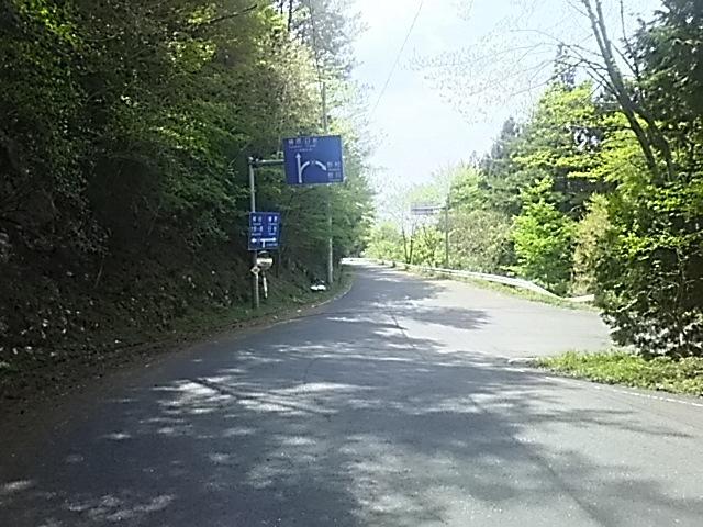 大規模林道 裏ルート日吉向き入り口
