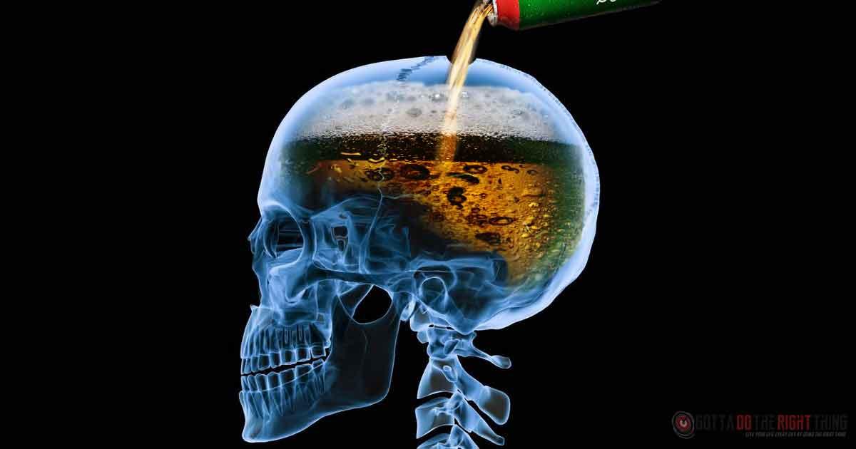 お酒の影響