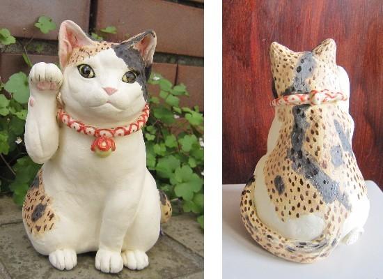 和猫カフェいまりちゃんの招き猫
