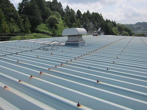 折板屋根塗装_施工前