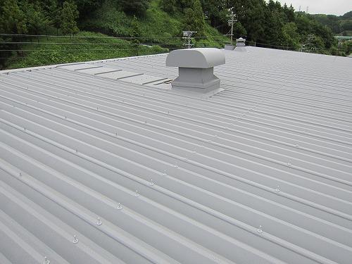 折板屋根塗装_完了
