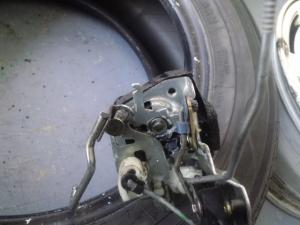 エブリィ ドアロック修理 ロック機構