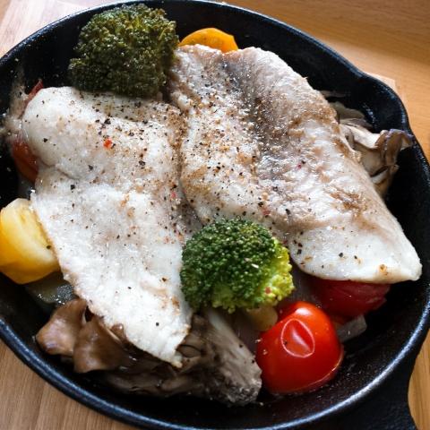 2018-06-06-白身魚ドレッシング煮