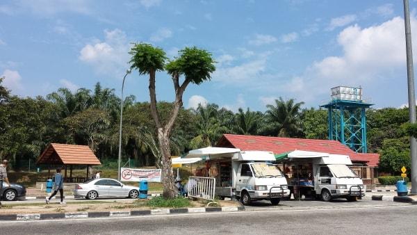 マレーシア_高速パーキングエリア