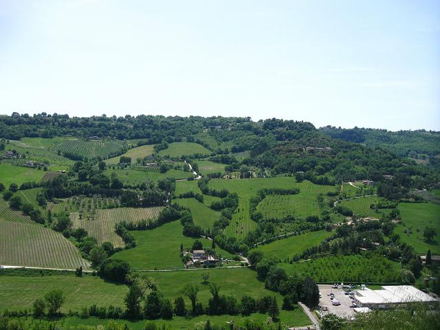 オルヴィエート周辺の風景·イタリア·Free Stocker