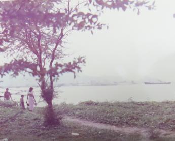マレーシアの海岸風景