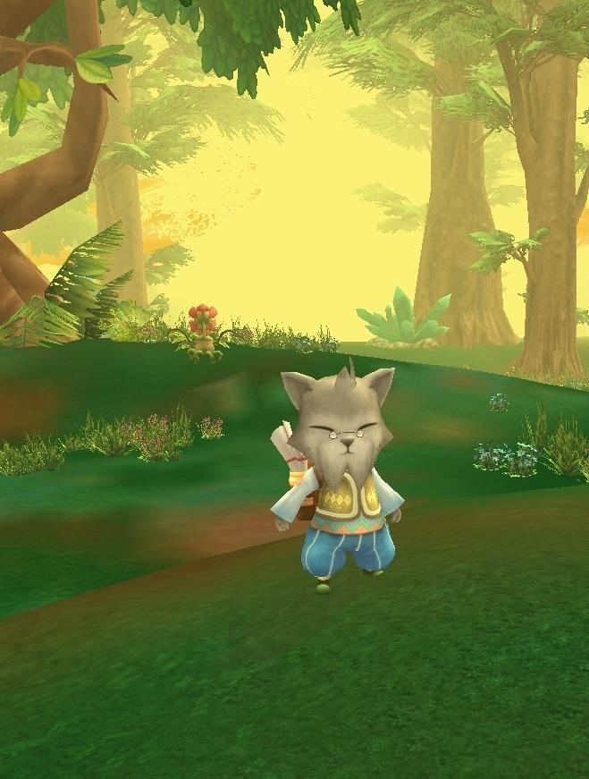 GFブログ(W10)用12 B2 ガイアの林でギルクエ・猫爺ぃ