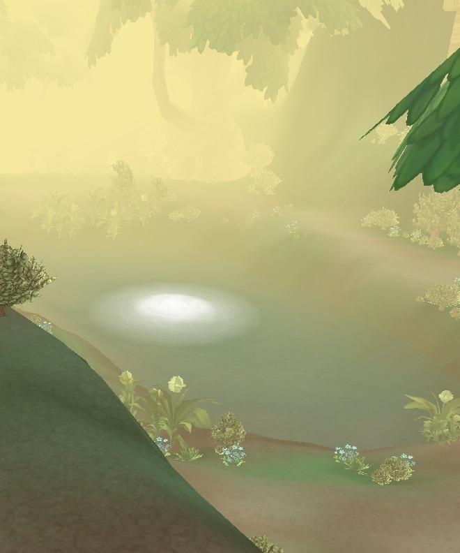 GFブログ(W10)用38A11 モヤモヤ湿地・ファングゴブリンの砦の不老不死の泉