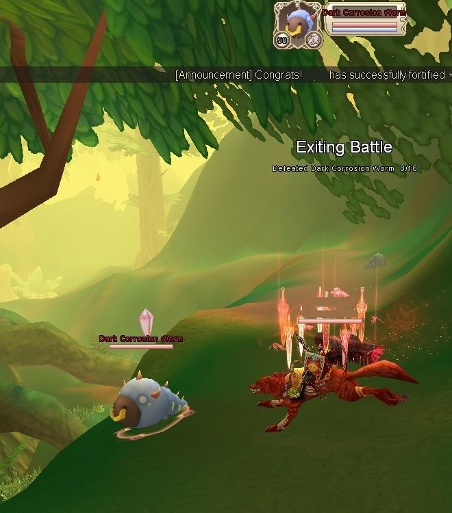 GFブログ(W10)用44B2 ガイアの林でギルクエ