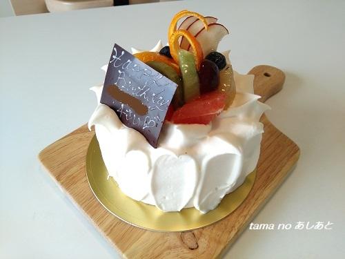 2018誕生日ケーキ