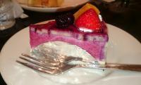 ランチセットのケーキ20180607