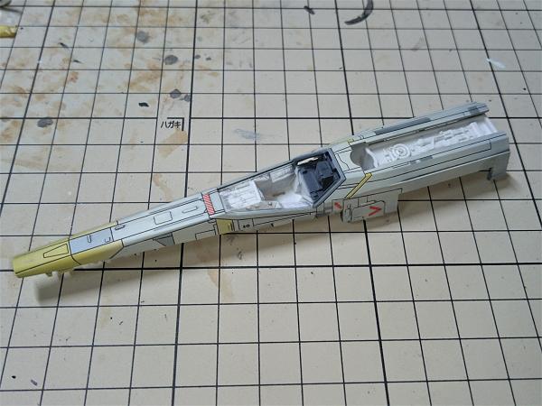 ローグ・ワン Xウイング・ブルーリーダー製作記112