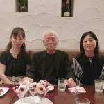 角江千代治先生と食事 アトリエ✳︎ジェムカフェ