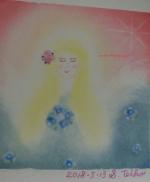 アトリエ ジェムカフェ 女神のパステルアート