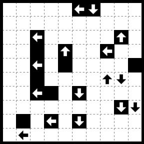 流れるループ 038