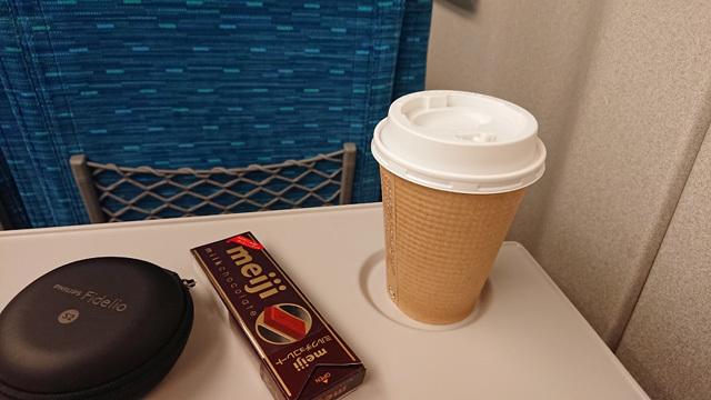 新幹線車内コーヒー