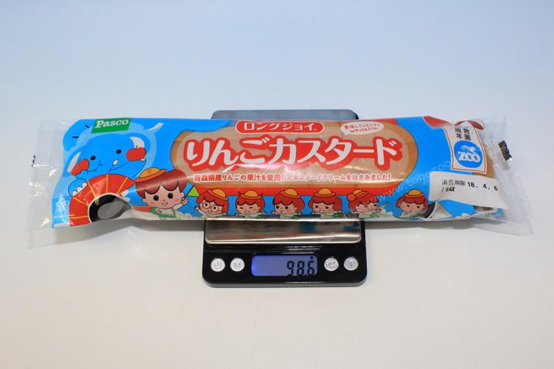 愛媛県立とべ動物園 開園30周年 記念パッケージ ロングジョイ パン りんごカスタードv