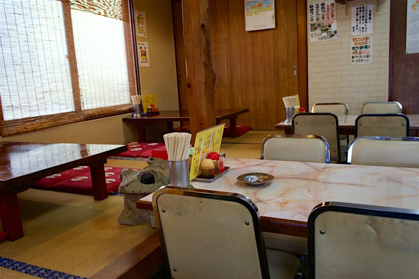 中華料理一番@日光市土沢 内観1
