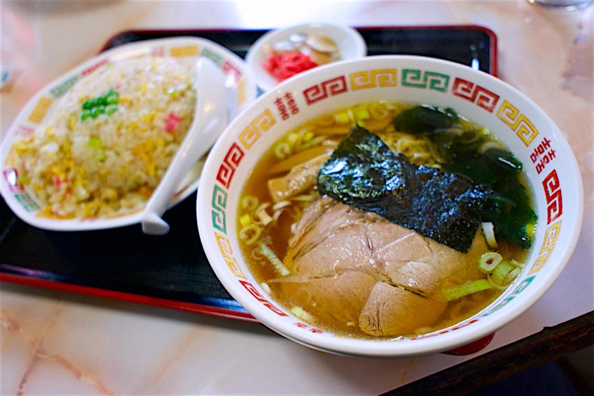 中華料理一番@日光市土沢 チャーハンセット