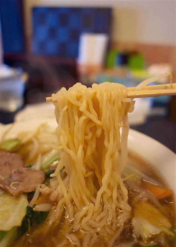 お食事処 畔@日光市大沢町 麺