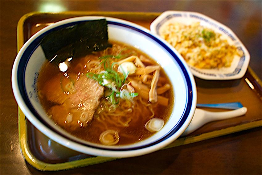 Raimu@茂木町茂木 醤油ラーメン+ ミニチャーハン