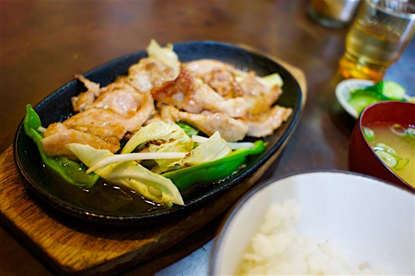 レストランきしべ@茂木町茂木 焼肉定食