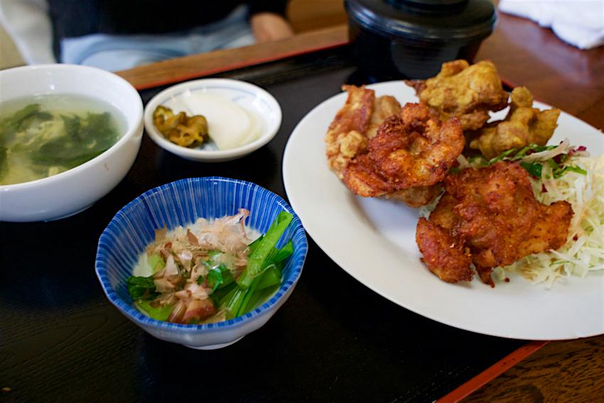 きよ里@宇都宮市屋板町 ミックスから揚定食