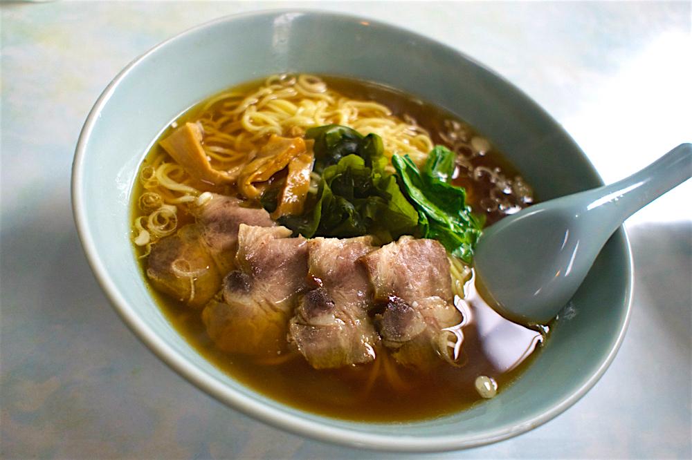 中華料理 正華苑@壬生町壬生 叉焼麺
