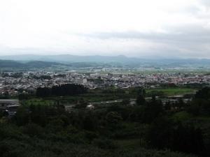 180628浪岡の街
