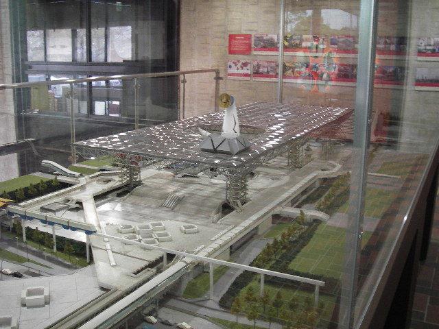 EXPO'70パビリオン2階シンボルゾーン模型201804