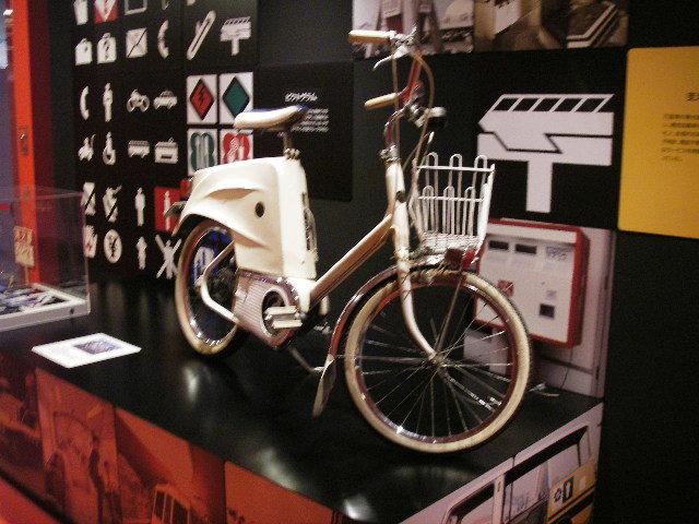 EXPO'70パビリオン常設展201804-16電気自転車