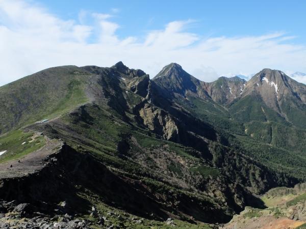 0613赤岳方面