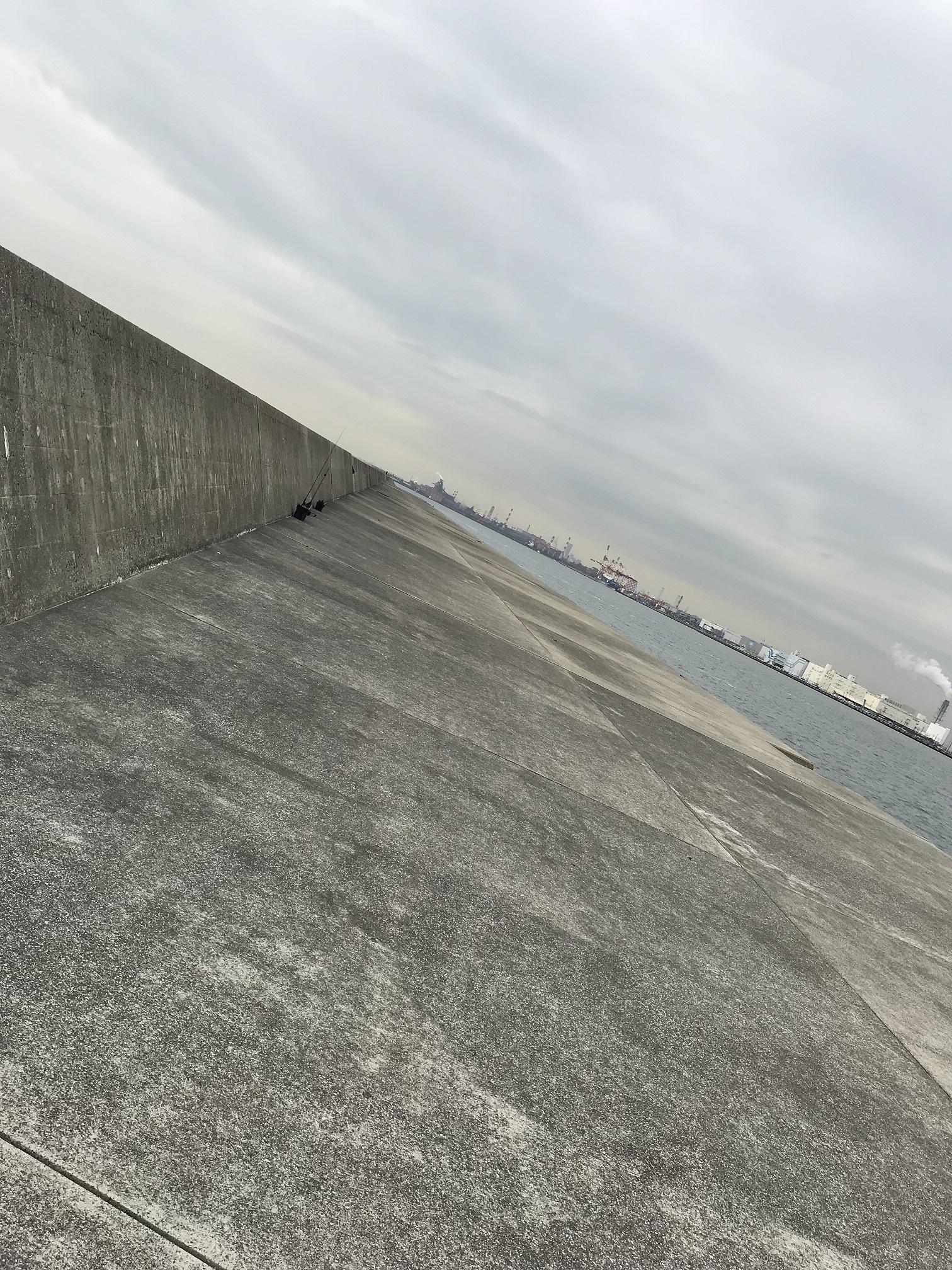 川崎新堤防