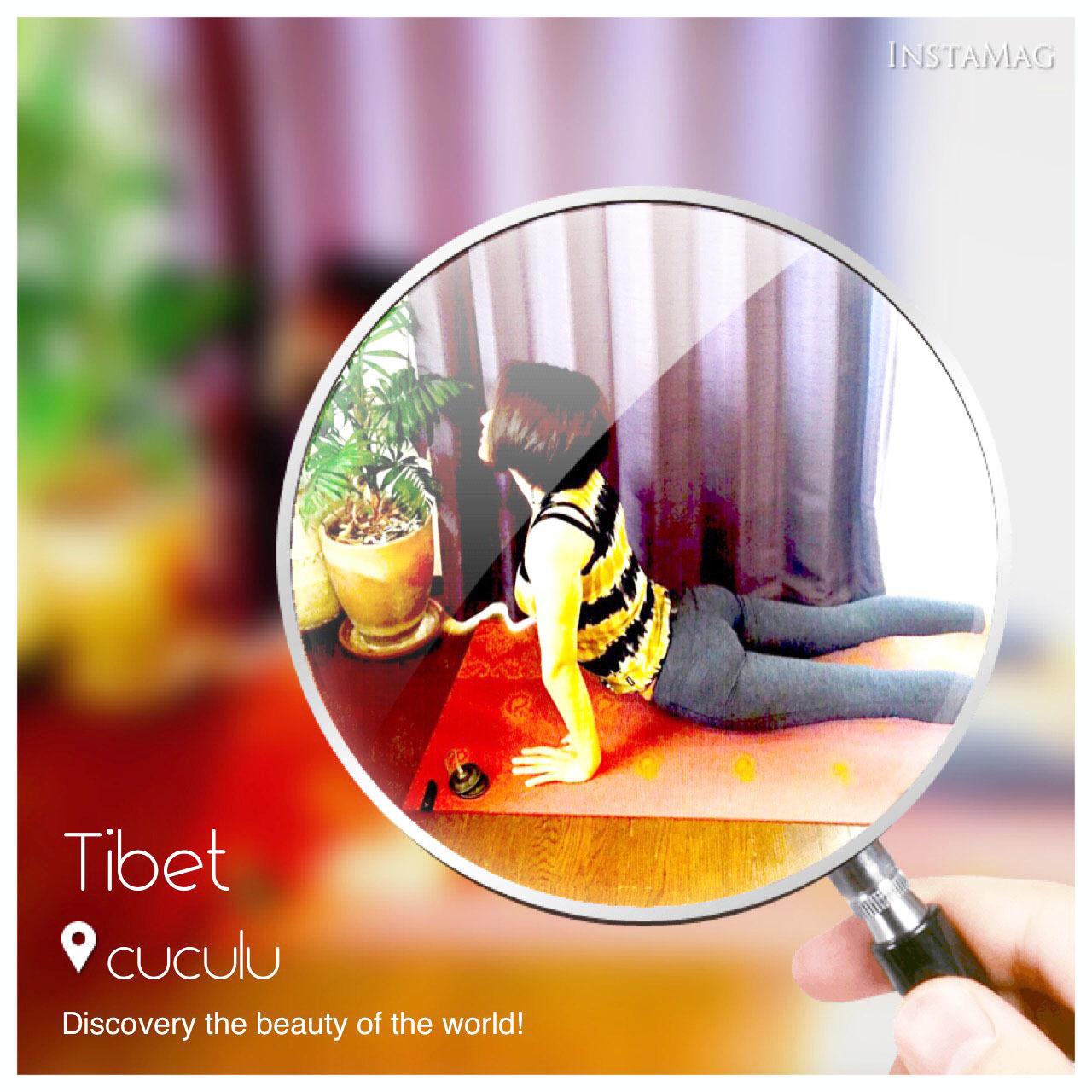 チベット体操9