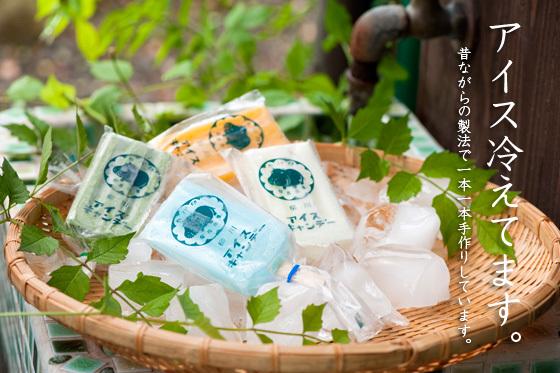 椛島氷菓アイスキャンディー