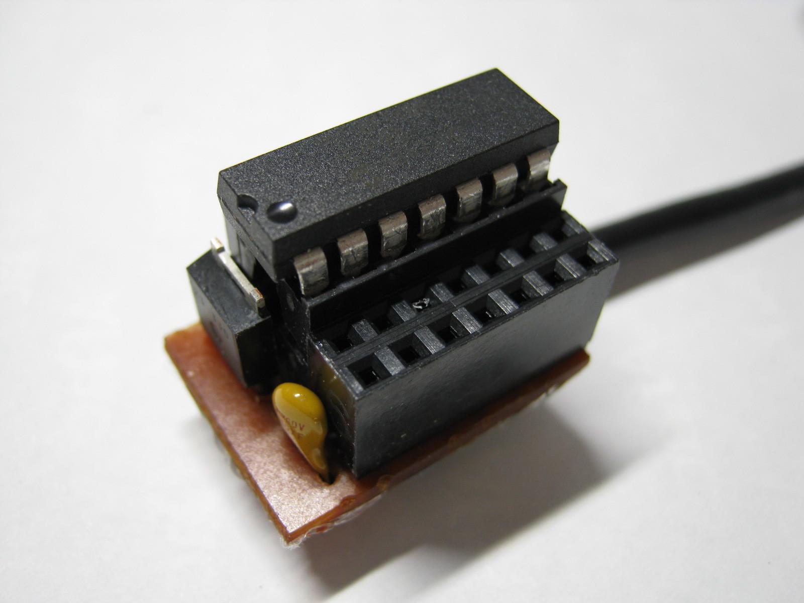 USB-Comエミュレータ(16F1454)外観1