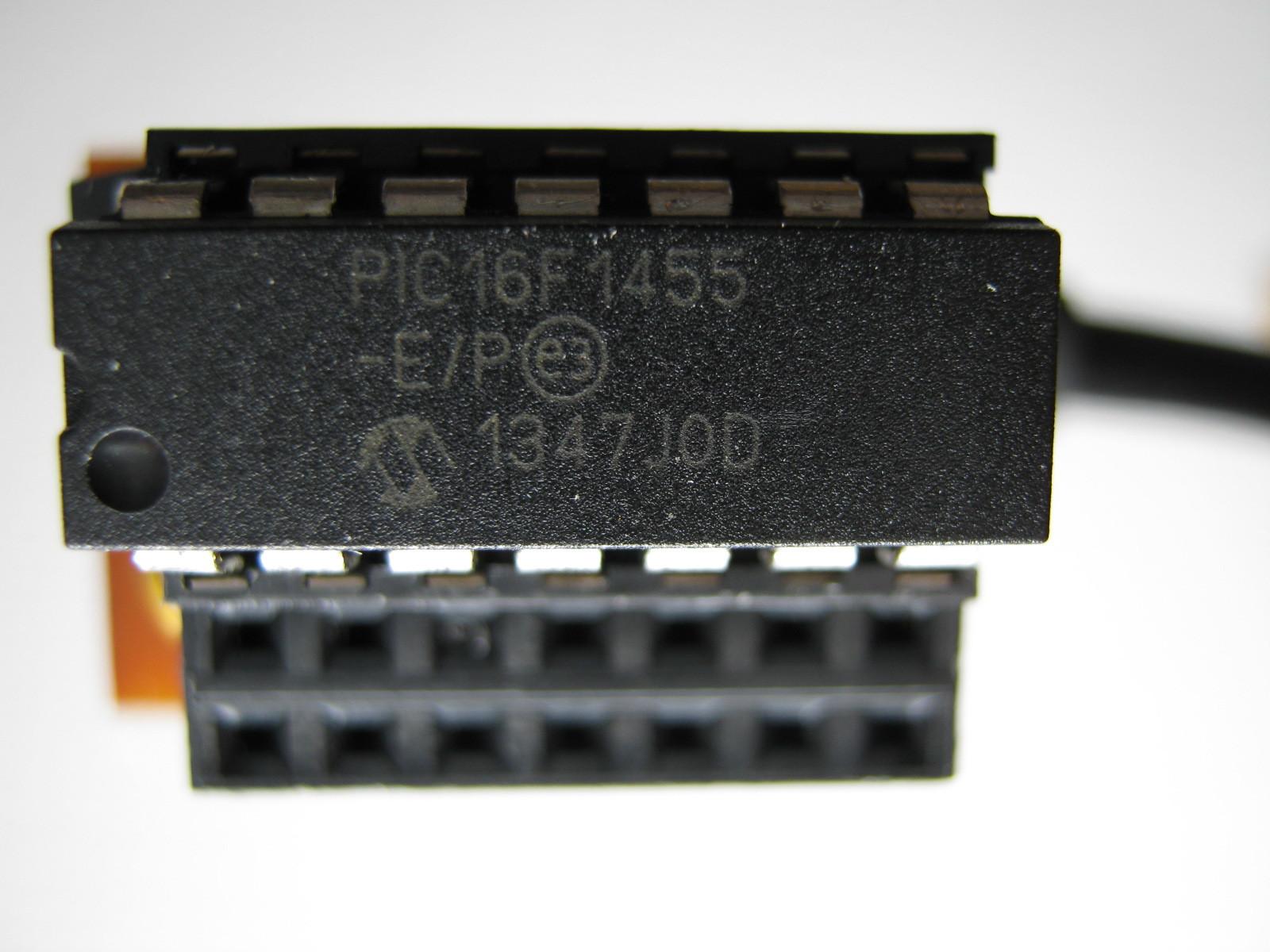 USB-Comエミュレータ(16F1454)外観2