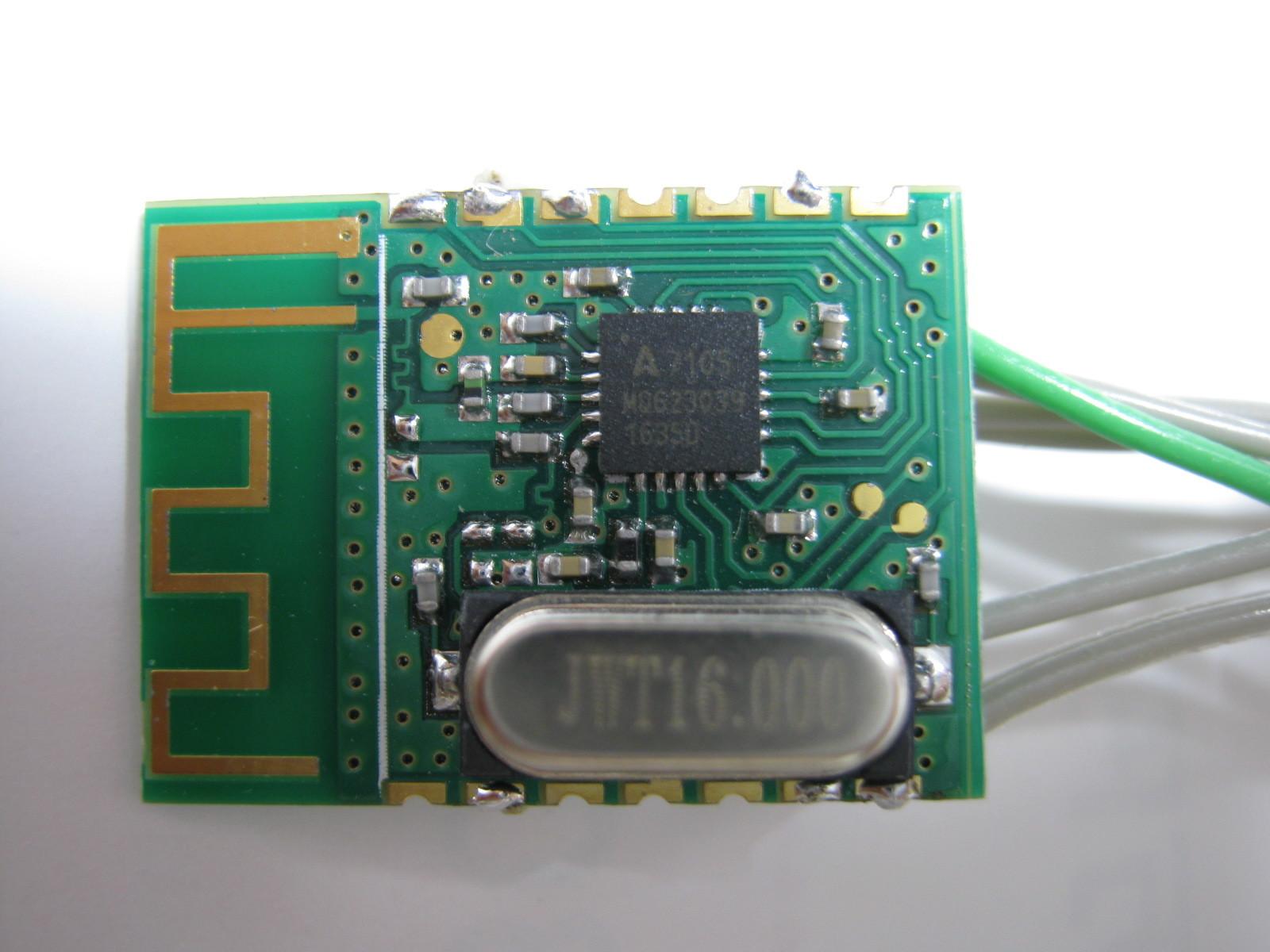 2.4GHzラジコン用ファームウェア製作(A7105)表