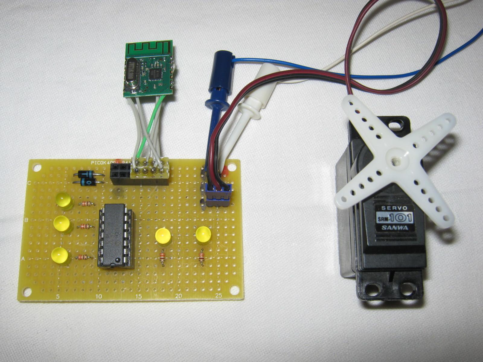 2.4GHzラジコン用ファームウェア製作(A7105)受信側