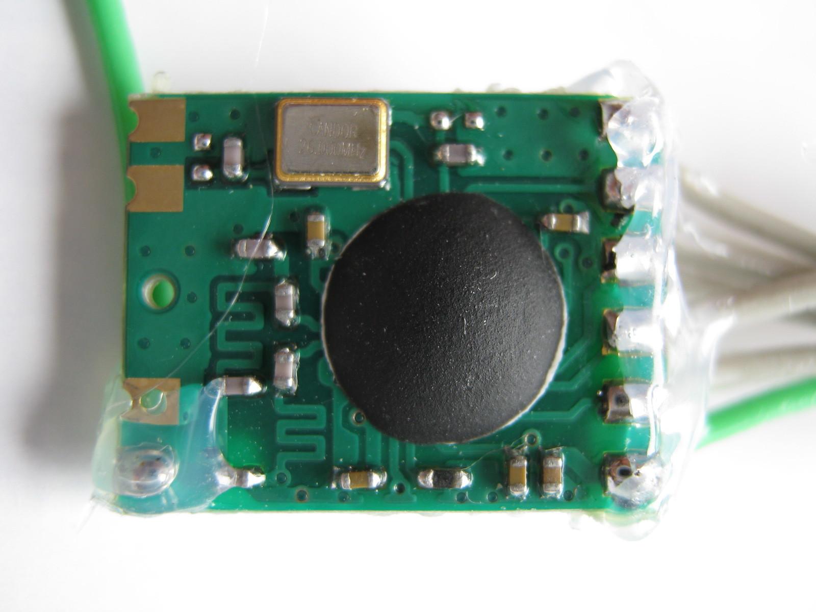 2.4GHzラジコン用ファームウェア製作(CC2500)表